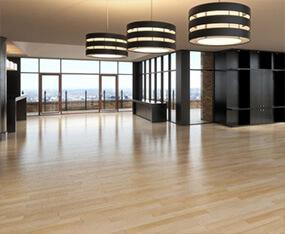 Comercial flooring installation