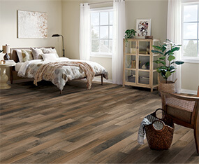 Residential flooring installation