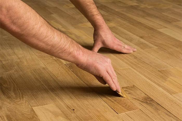 Hardwood flooring installation banner