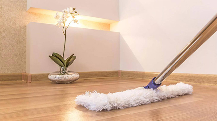 Hardwood flooring installation caring