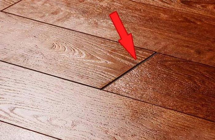 Hardwood flooring installation filling in the gaps