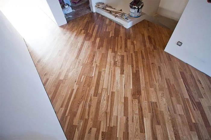 Hardwood flooring installation free diagonal