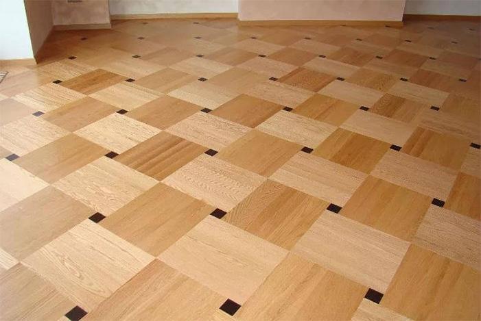 Hardwood flooring installation network laying example 3
