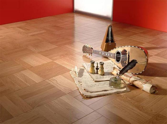 Hardwood flooring installation network laying example 5