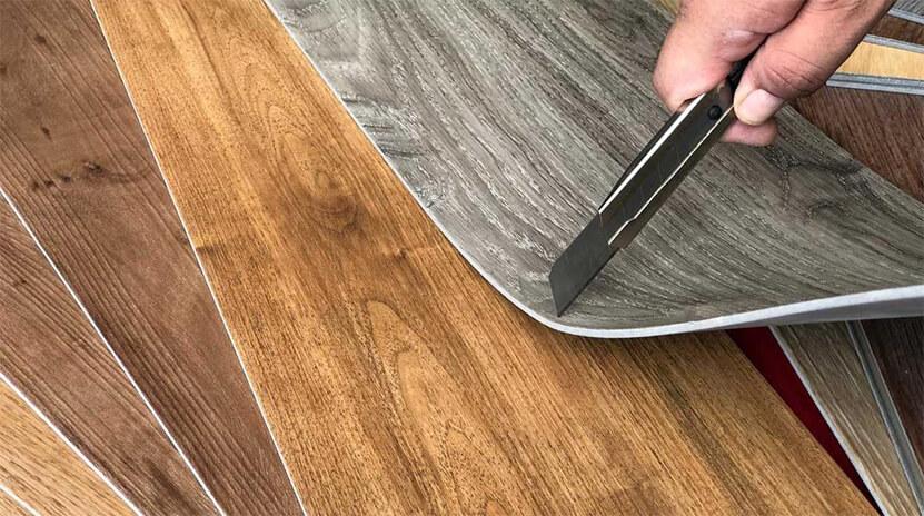 Vinyl flooring installation instruction