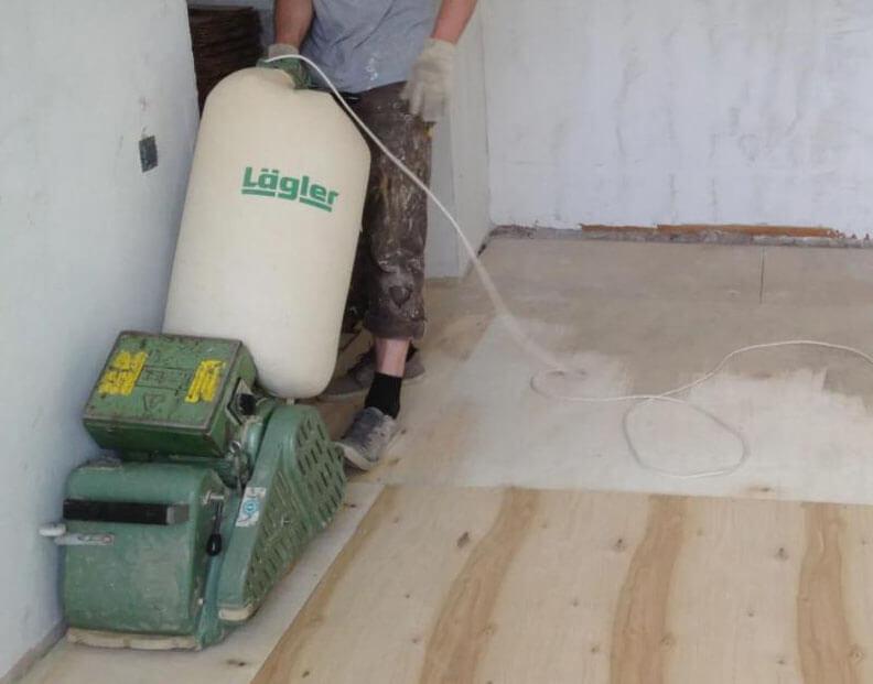 Engineered hardwood flooring installation